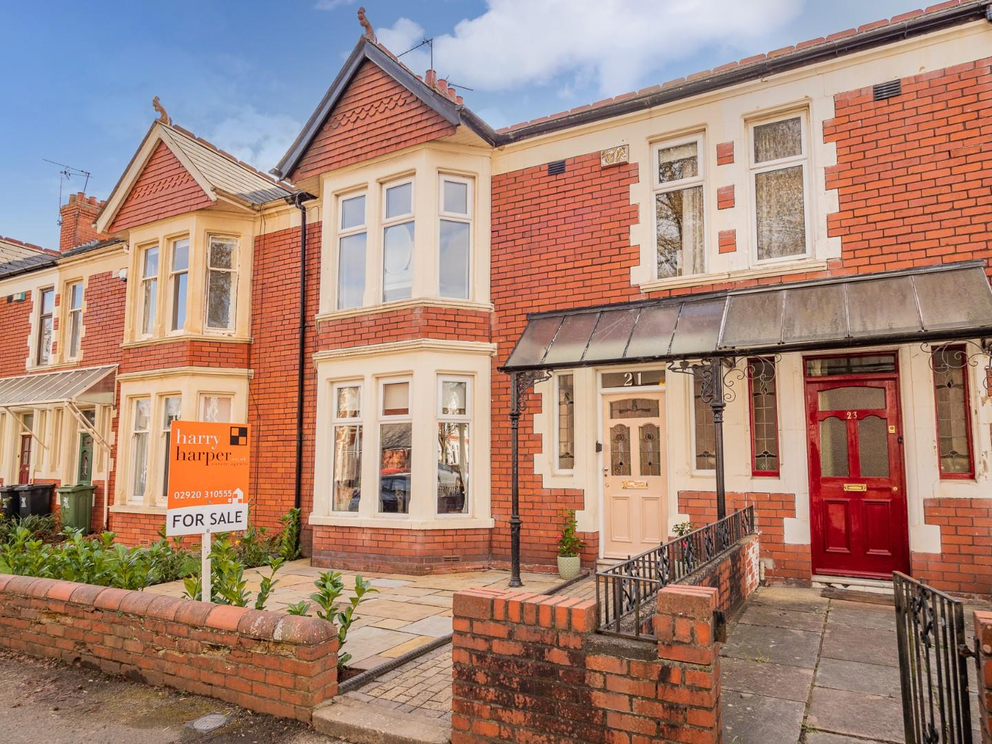 4 bed terraced house for sale in Southminster Road, Cardiff - Property Image 1