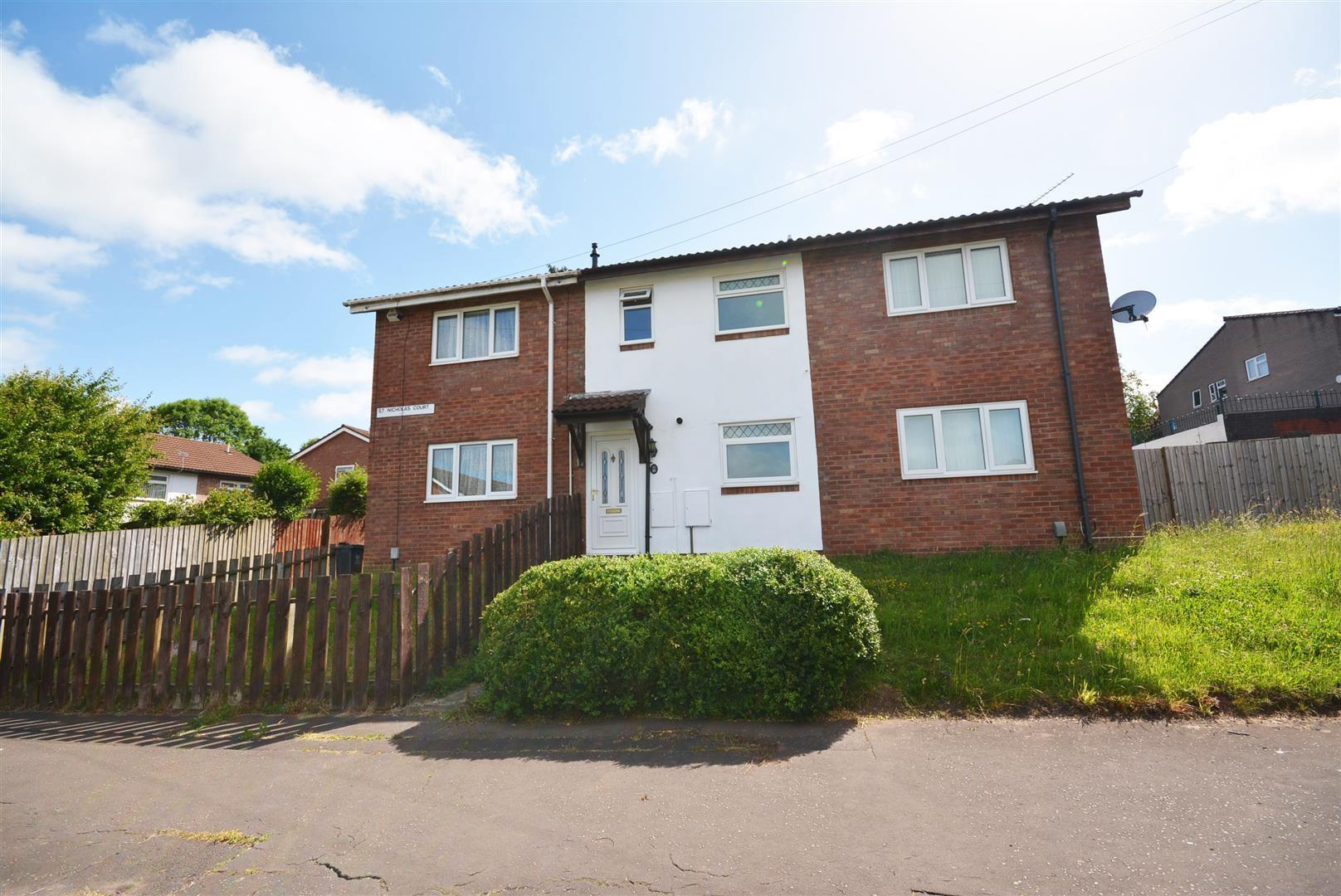 2 bed terraced house for sale in St Nicholas Court, Cardiff, CF23