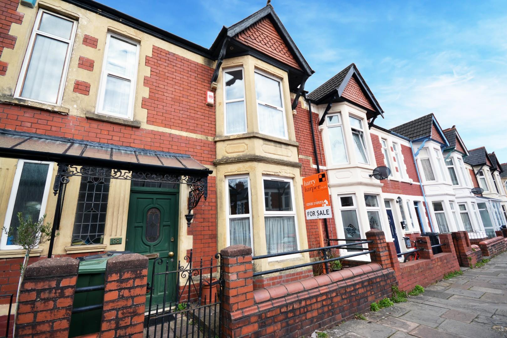 4 bed terraced house for sale in Cosmeston Street, Cardiff, CF24