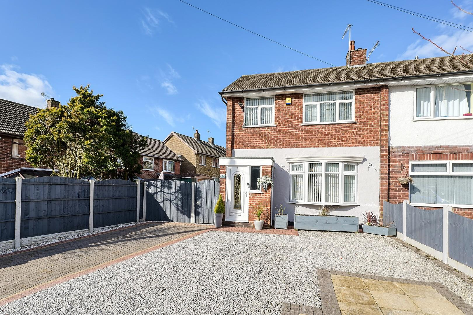 3 bed semi-detached house for sale in Longview Close, Stoke-On-Trent, ST3