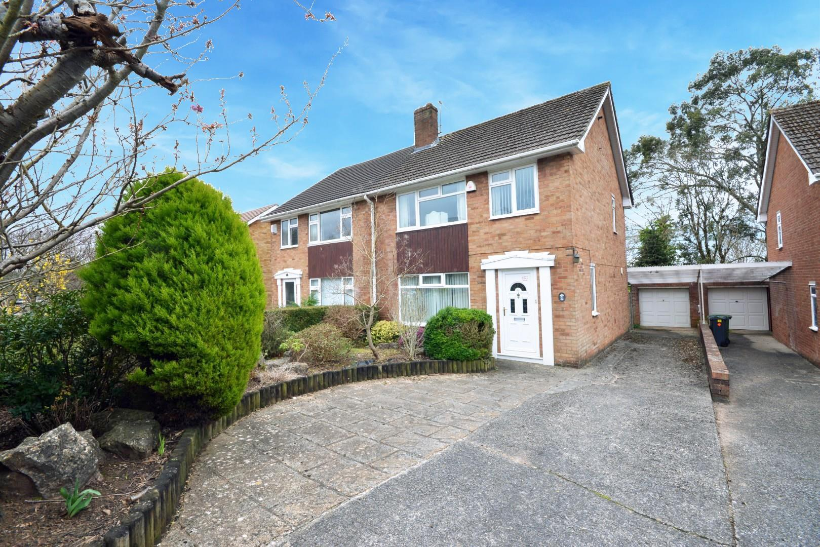 3 bed semi-detached house for sale in Carnegie Drive, Cardiff - Property Image 1