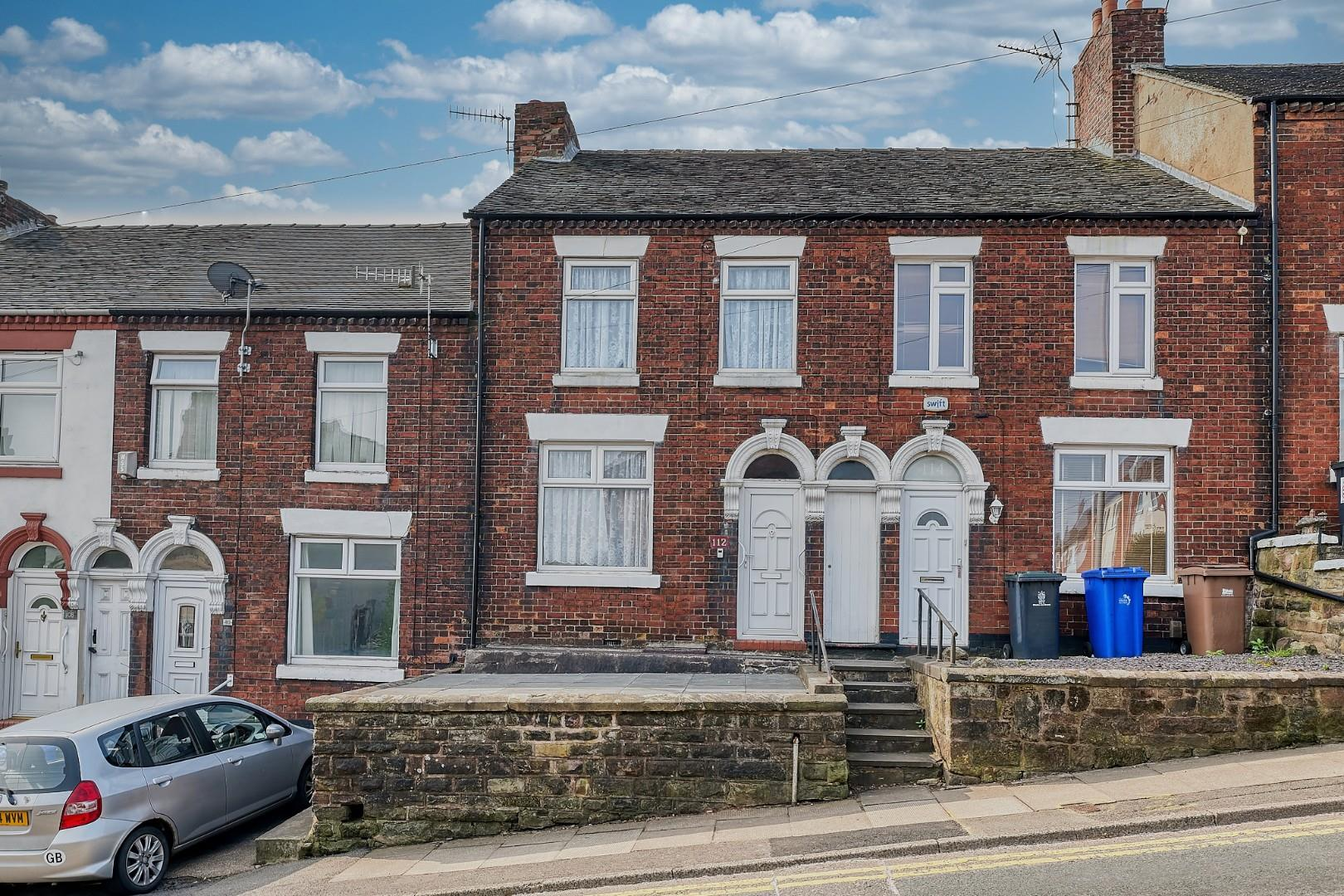 3 bed terraced house for sale in Penkhull New Road, Stoke-On-Trent, ST4
