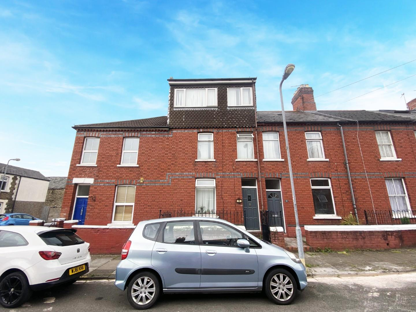 4 bed terraced house to rent in Florentia Street, Cardiff, CF24