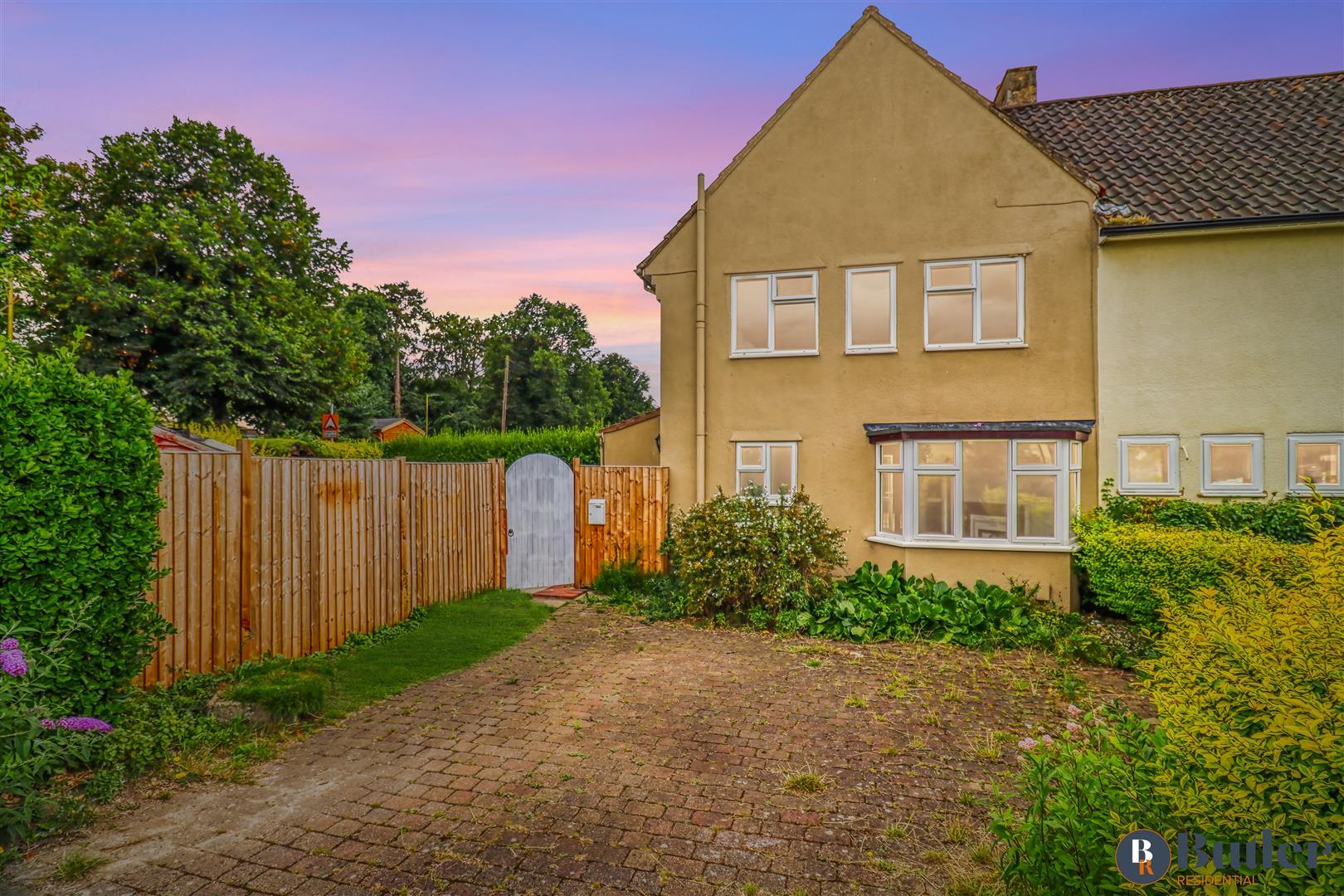 3 bed semi-detached house for sale in Weston Way, Baldock, SG7