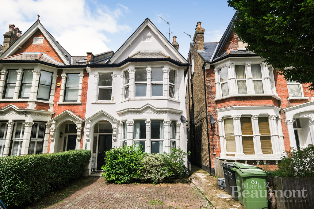 Catford Conservation area. Two bedroom first floor flat opposite the green. Share of freehold. No chain. Needs small amounts of attention. #AskBeaumont