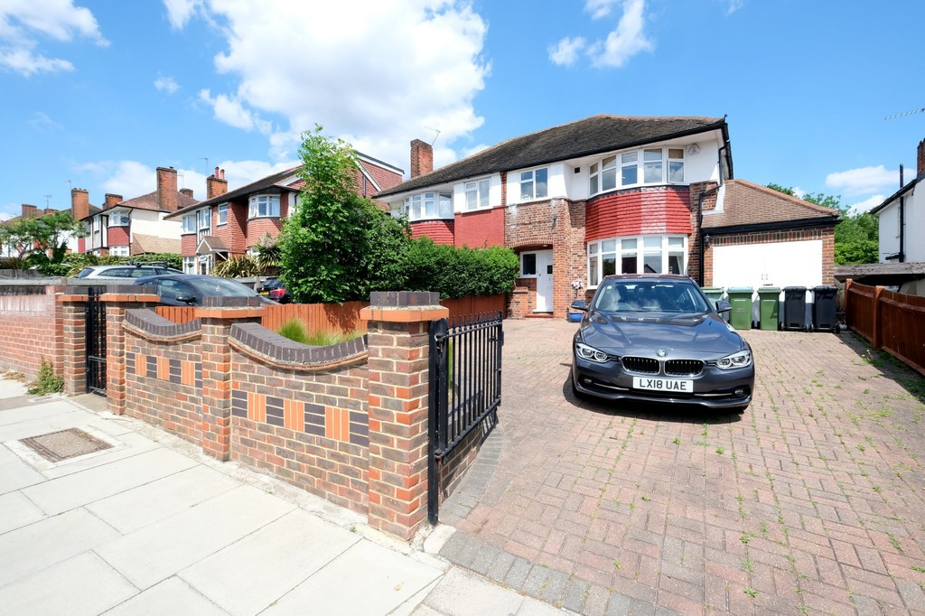 NO STAMP DUTY ON THE 1ST £500K.  Until the 1.3.21 Stamp Duty on this house is £12.5k. Be quick. For sale is this attractive halls adjoining semi-detached house, in the popular Horn Park area. Winn Road is a pretty tree lined road with an interesting and attractive variety of large houses. This house backs onto the park with a green view, which you don't normally get in London. The house is approached by a large driveway with plenty of parking. There is an entrance hall and two separate reception rooms. The kitchen is fully fitted. The garage has been converted into storage and a utility room. Upstairs there are three good sized reception rooms and a large bathroom with corner bath and shower. There is separate WC. The garden to the rear is really big, mainly laid to lawn. This is a family house and still offers further potential to extend. No chain. Whatsapp us: 07832 685 596