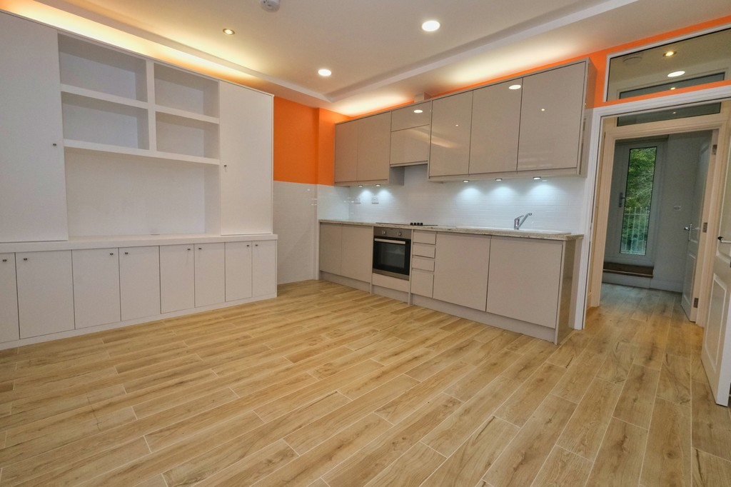A very beautifully finished flat. This landlord has an exceptional eye for detail and this will be one of the neatest flats you ever rent. This is a two bedroom flat with two shower rooms. With a private balcony/terrace. Must be seen. Available now.