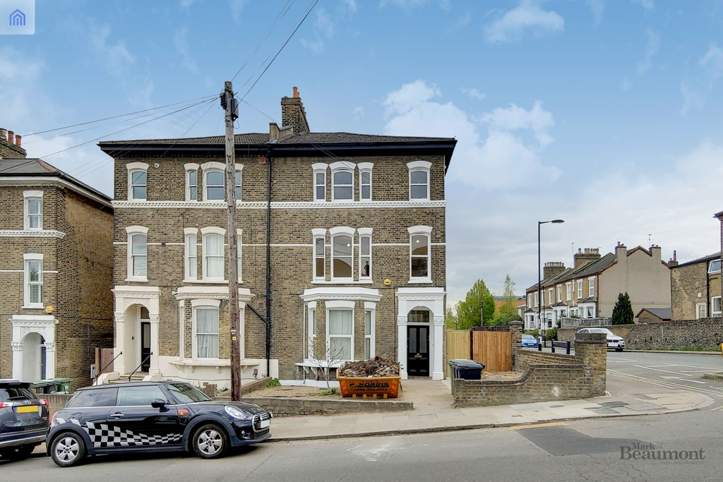 Two/three bedroom first floor conversion flat. Near Brockley station and also just down the road from Telegraph Hill Park. Great location. Newly refurbished, completely new inside. Available now.