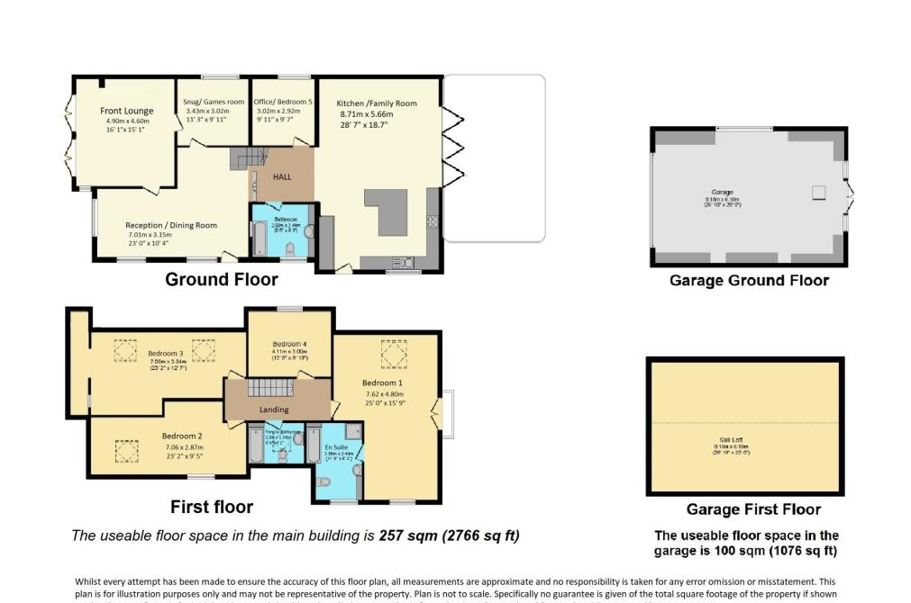 4 bed detached house for sale in Invicta Road, Whitstable, CT5 - Property Floorplan