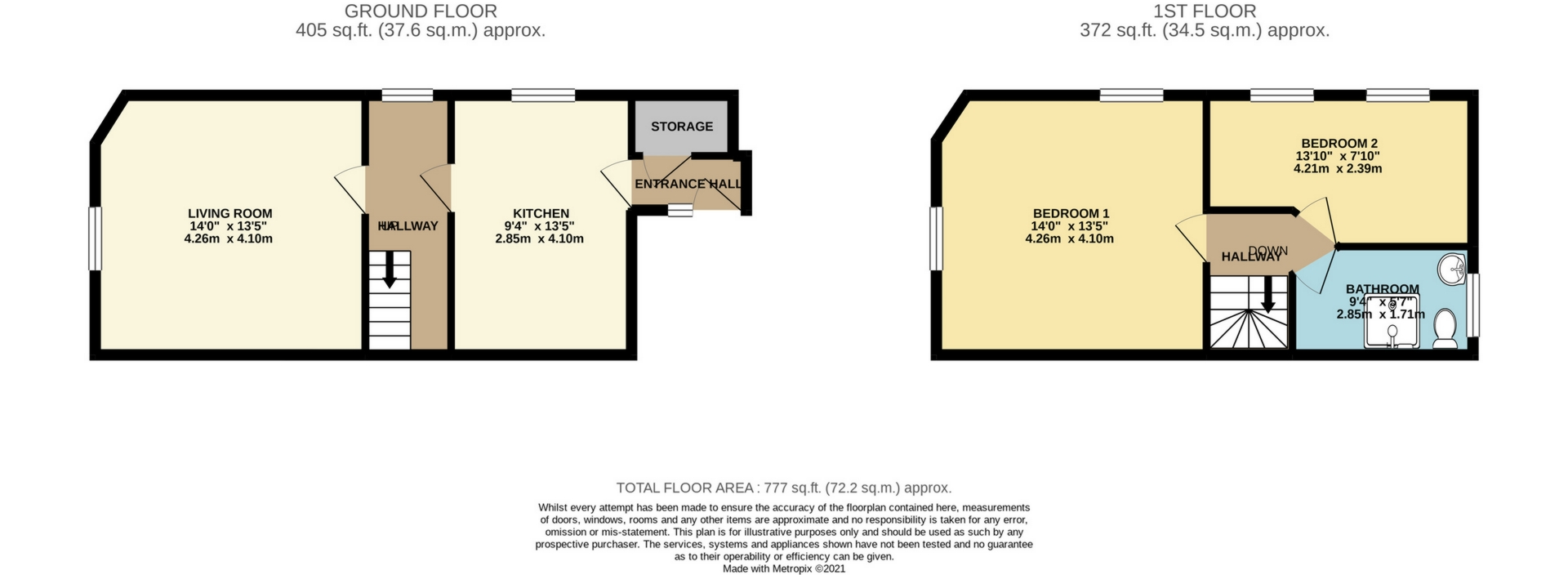 3 bed commercial property for sale in High Street, Broadstairs - Property Floorplan