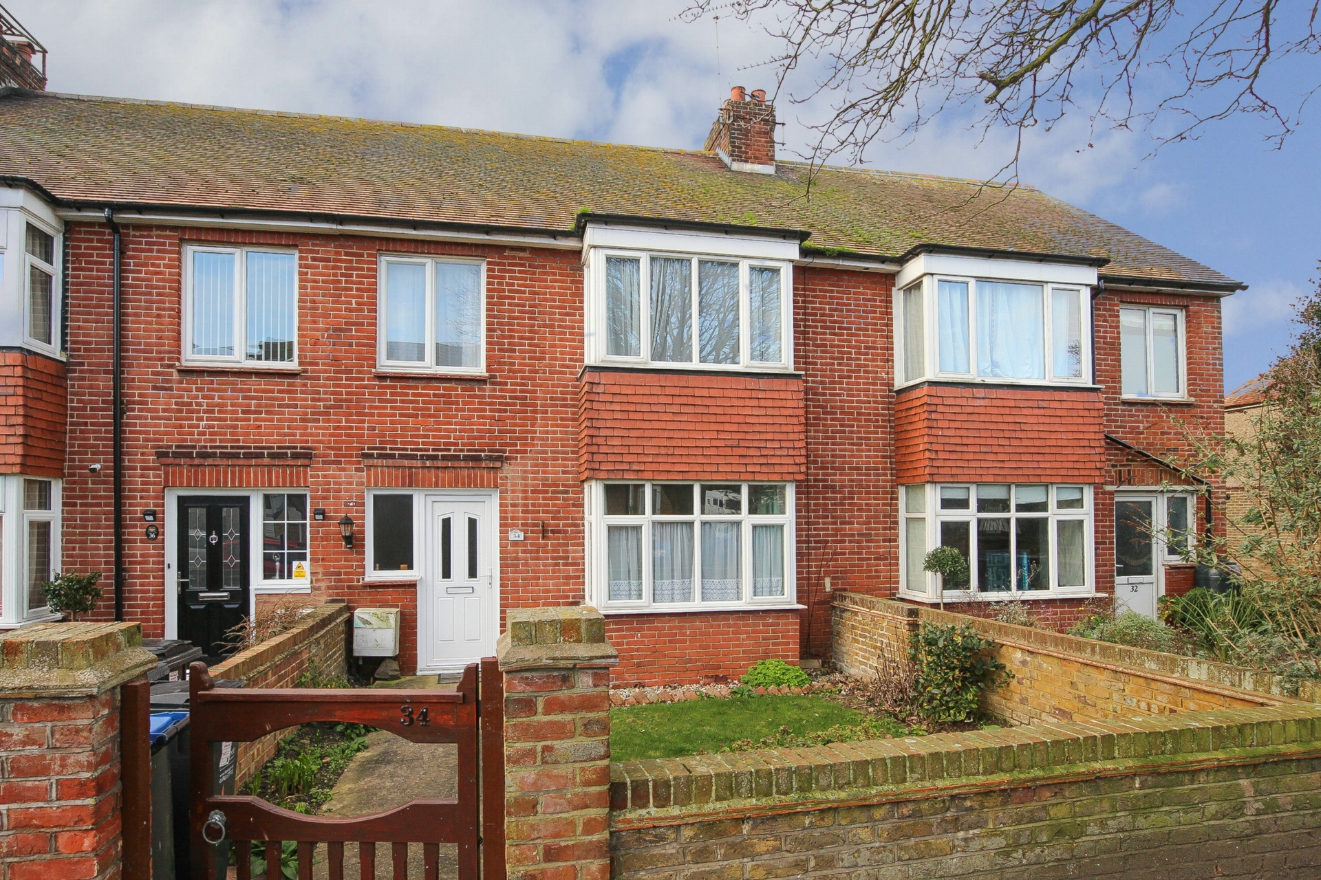 3 bed terraced house for sale in Ethelbert Road, Birchington, CT7  - Property Image 1