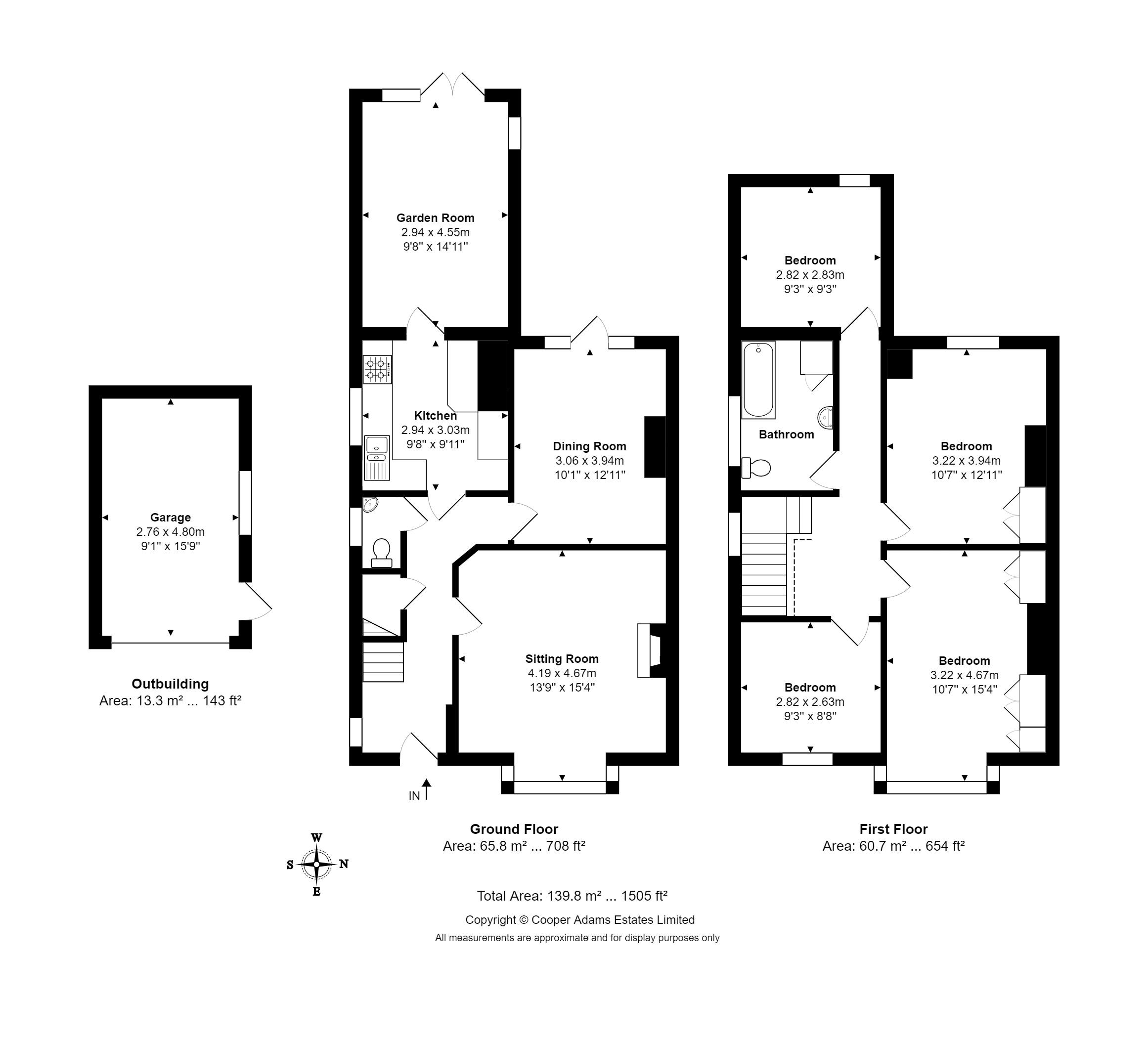 4 bed house for sale in Lansdowne Road, Angmering - Property Floorplan