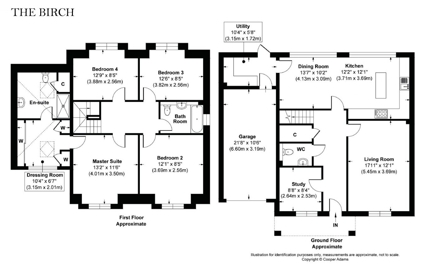 4 bed house for sale in Swallows Gate, Dappers Lane, Angmering - Property Floorplan