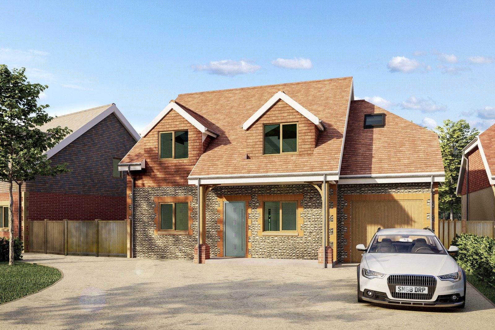 4 bed house for sale in Swallows Gate, Dappers Lane, Angmering  - Property Image 1