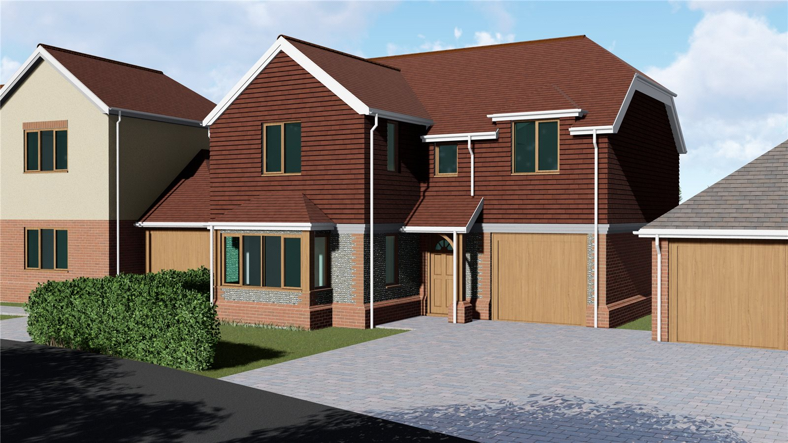 4 bed house for sale in Starlings View, Arundel Road, Angmering  - Property Image 1