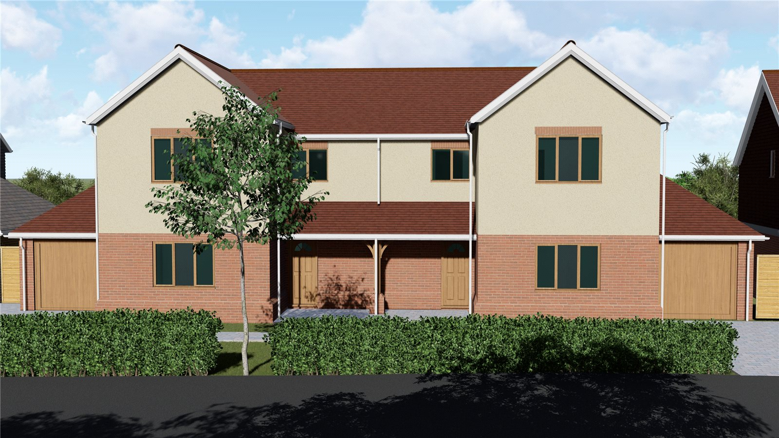 3 bed house for sale in Starlings View, Arundel Road, Angmering, BN16