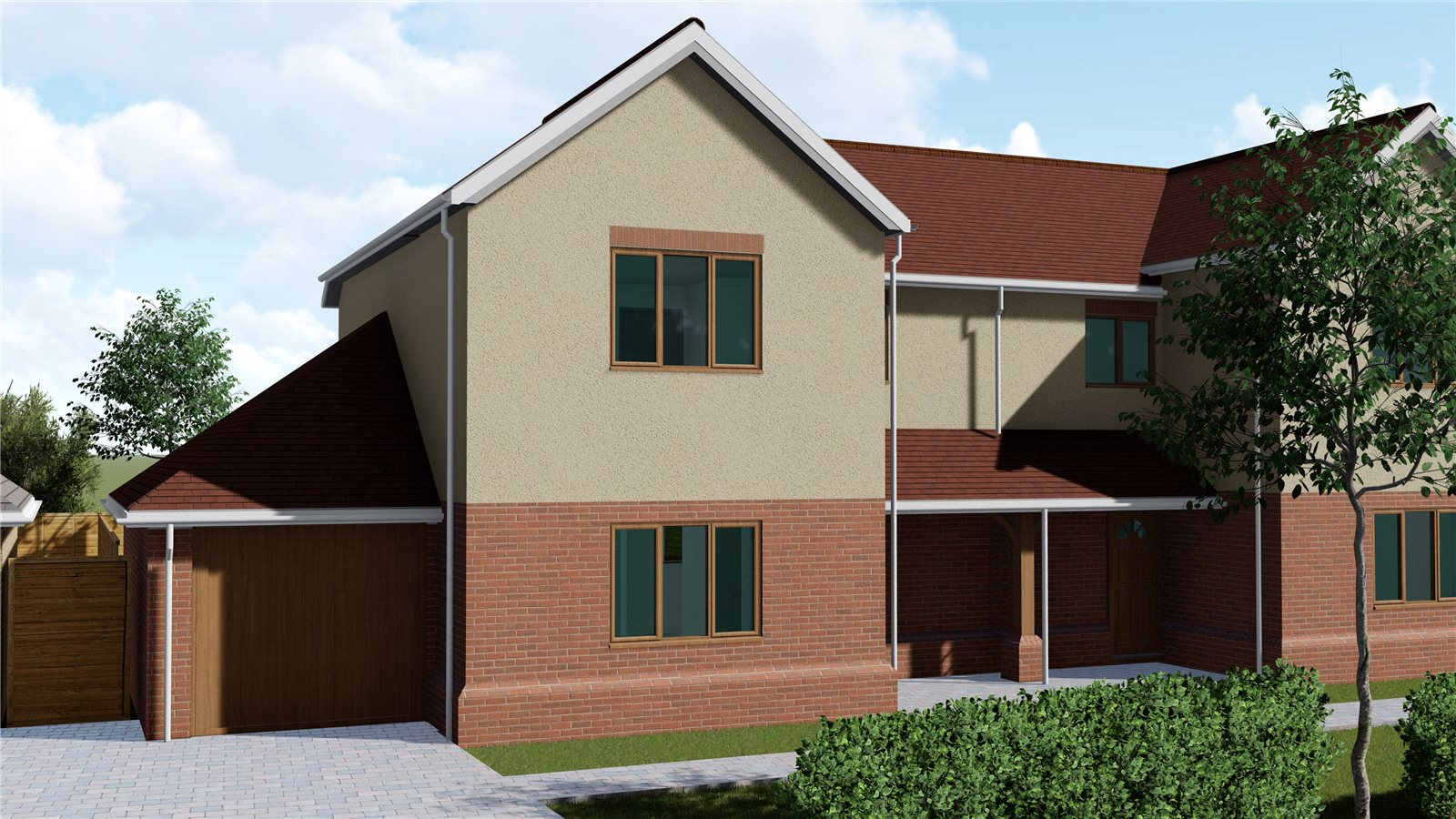 3 bed house for sale in Starlings View, Arundel Road, Angmering - Property Image 1