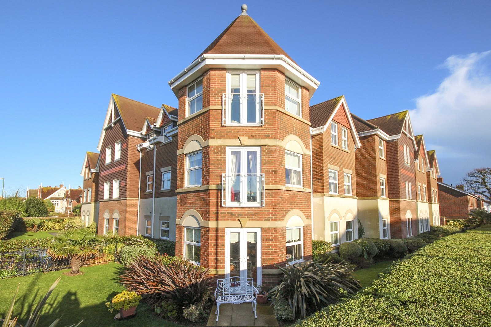 2 bed apartment for sale in Tamarisk, 1 Manor Road, East Preston, BN16