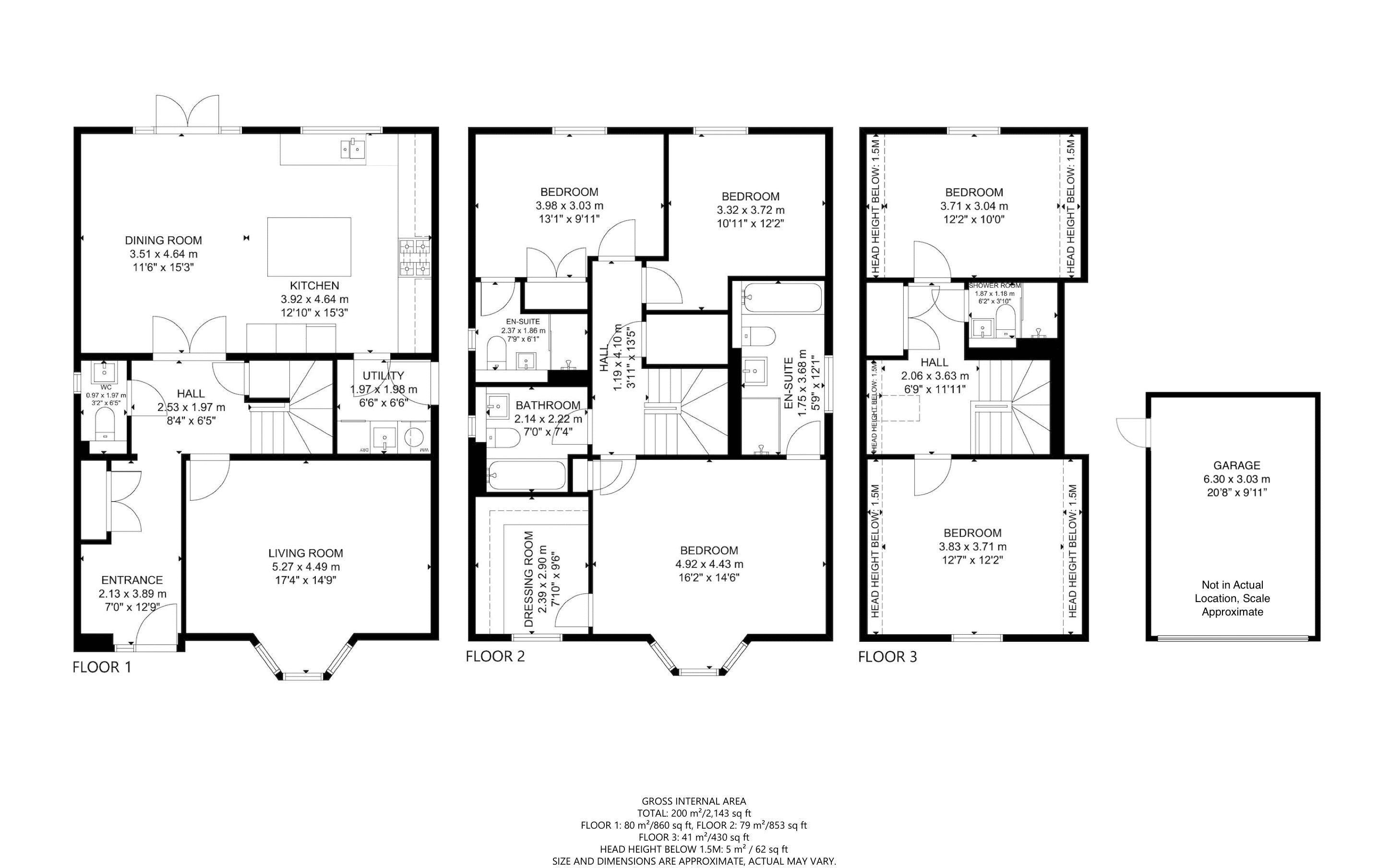 5 bed house for sale in Bankside, Chichester - Property Floorplan