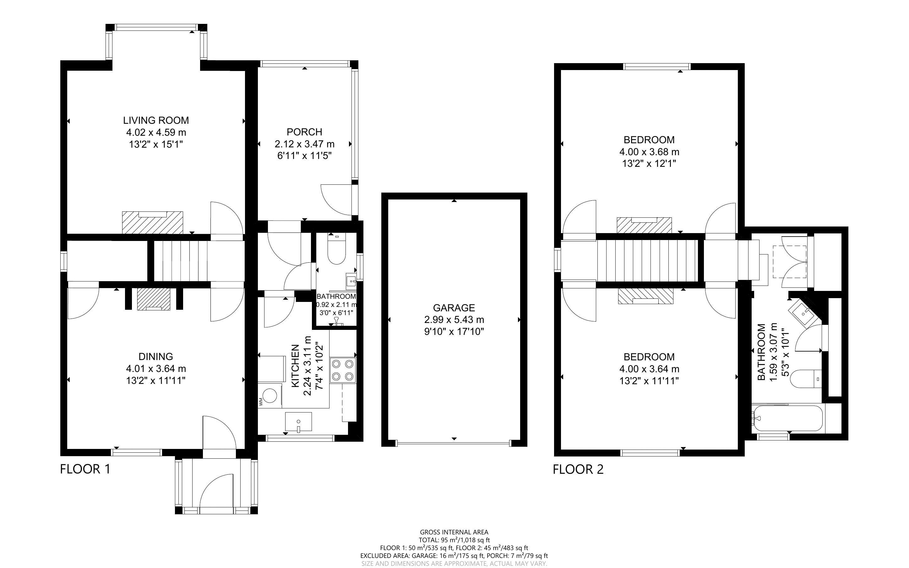 2 bed for sale in West Ashling Road, Chichester - Property Floorplan