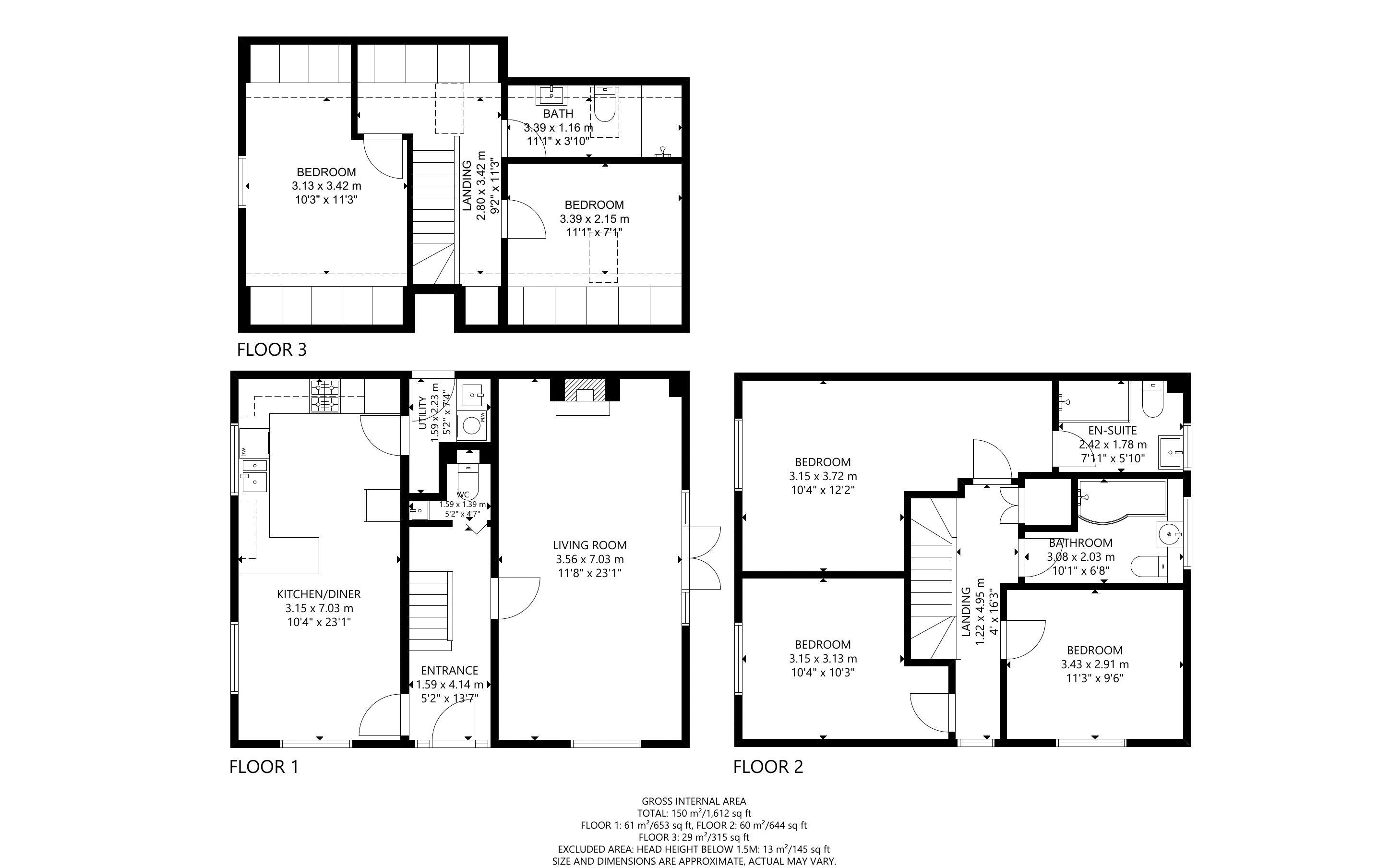 5 bed house for sale in Main Road, Chichester - Property Floorplan