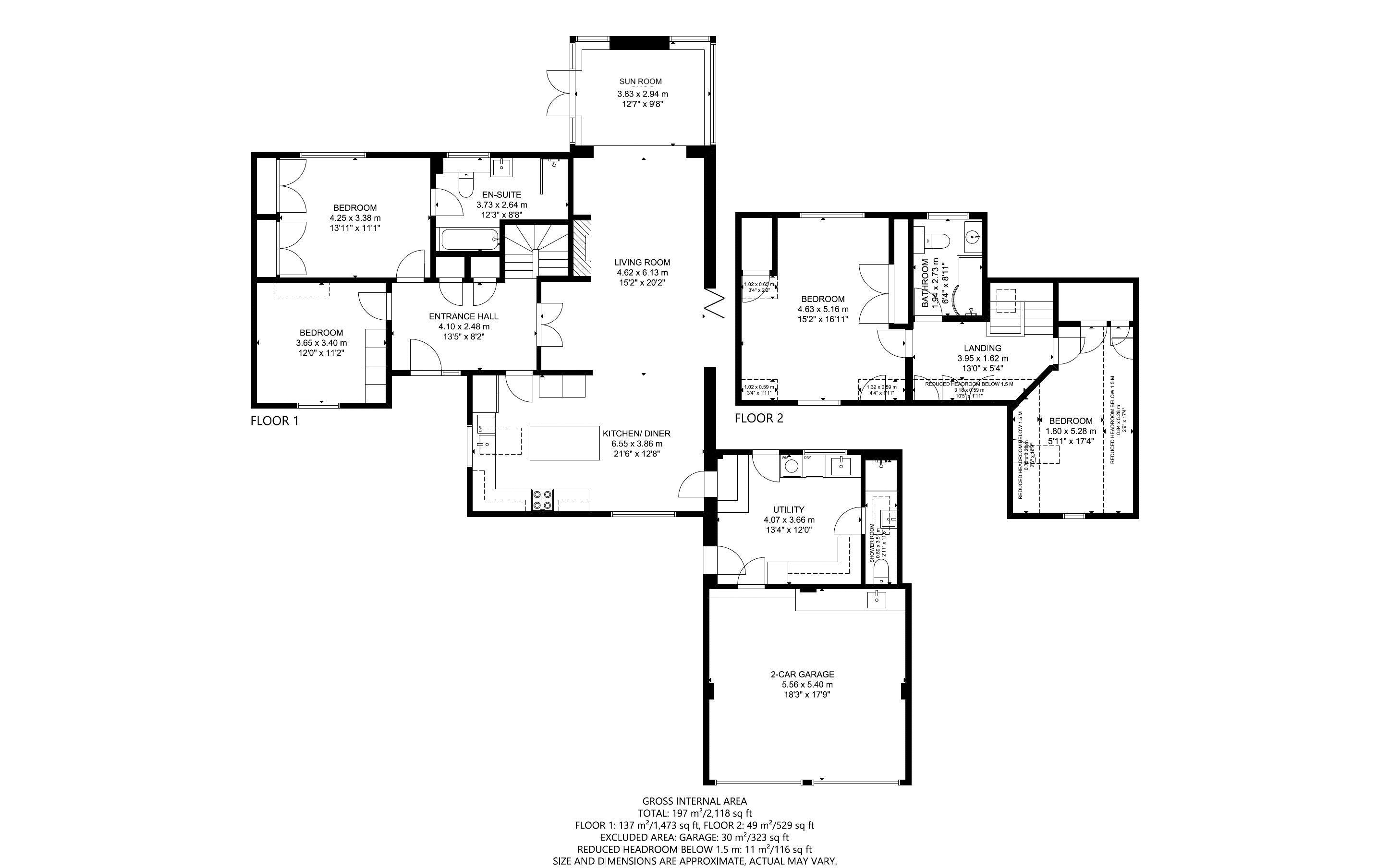 4 bed house for sale in Fordwater Road, Chichester - Property Floorplan