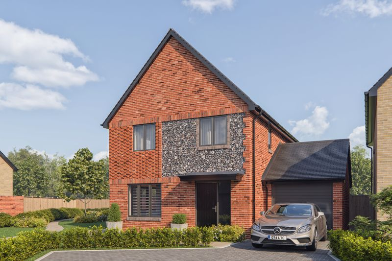 The Potteries, Yapton - LAST 4 BEDROOM DETACHED HOUSE REMAINING! READY JULY 2021!
