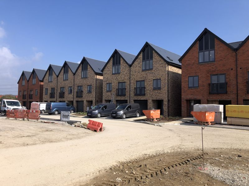 Reserve one of these stunning and spacious three storey town houses early from plan.  Over 80% of Phase 1 Already Reserved! *** Ready for occupation in December 2021 ***Plot 15 at The Potteries is currently under construction by Crayfern Homes.   With stunning views over surrounding countryside, these town houses offer spacious and adaptable family accommodation. <br/><br/>Extending to 1,425 ft², the accommodation features a Study, Utility Room and Shower Room to the Ground Floor, with a Living Room, with double doors and a Juliette balcony, and a contemporary Symphony Kitchen/Dining Room with double doors to Juliette balcony and integrated appliances to the First Floor.  Then to the Second Floor, 3 Further Bedrooms with an En Suite Shower Room to the Master Bedroom and a further Family Bathroom.  With an integrated Single Garage and further parking, this property offers flexible and adaptable accommodation.<br/><br/>A Show Home is available for viewing at Crayfern Homes' development at Five Acres, Burndell Road, Yapton, until the Sales Office opens at The Potteries, but why not take advantage of reserving off plan now to secure the home of your dreams! With  Help to Buy available for First Time Buyers, don't miss out on this early opportunity!<br/><br/>The high specification includes:-<br/><br/>Kitchen<br/><br/>Contemporary designed Symphony kitchens<br/><br/>Laminate work surfaces<br > Integrated appliances to include Zanussi 50/50 fridge freezer, AEG induction hob, extractor fan above, AEG single oven and single oven/microwave<br > LED under wall unit lighting<br > Plumbing and space for washing machine<br > Removable unit for dishwasher<br > Stainless steel sink mixer tap<br > Porcelanosa floor tiles<br/><br/>Bathrooms and En-Suites<br > <br/><br/>Roca white contemporary sanitaryware<br > Bristan taps<br > LED down lights<br > Roca, vanity unit with storage below and mirror above to Bathrooms and En-Suites<br > Porcelanosa floor tiles<br > Porcelanosa splashback