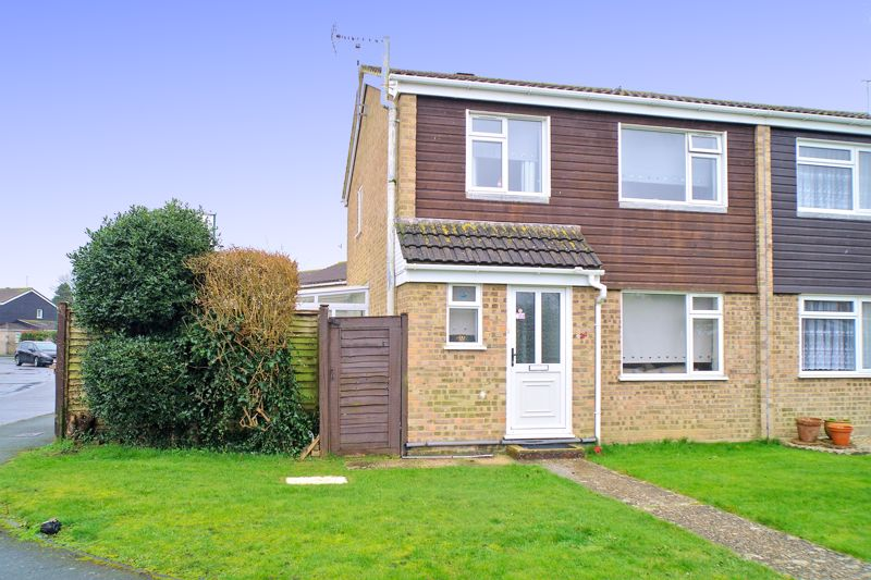 <br/><br/>White & Brooks are delighted to offer for sale, this semi-detached house, situated on a corner plot in a quiet cul-de-sac location within easy reach of local schools, shops and amenities.The accommodation briefly comprises to the ground floor, Entrance Hall, Lounge/Diner, Kitchen, Utility Room, Cloakroom and Conservatory and to the first floor, two double Bedrooms, a further single Bedroom and family Bathroom.The property further benefits from an enclosed rear garden and garage situated in nearby compound. An internal viewing is essential to appreciate all the property has to offer.