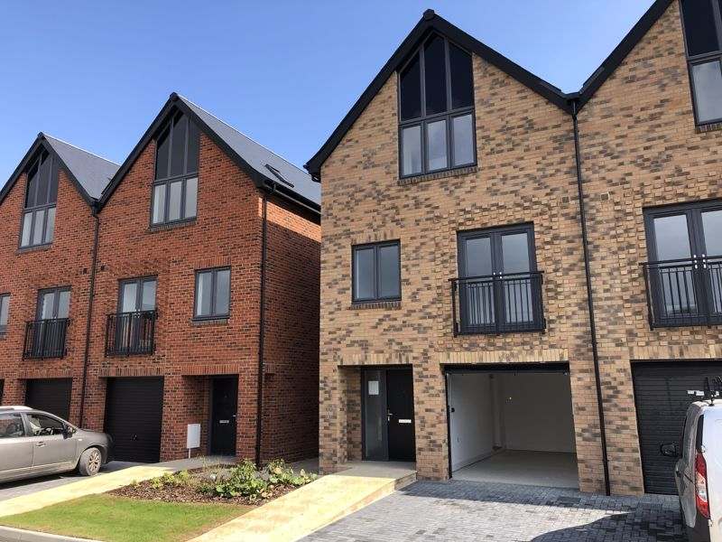 Reserve this stunning and spacious three storey town houses early from plan. Over 80% of Phase 1 Already Reserved! <br/><br/>*** Ready for occupation late 2021 *** <br/><br/>Plot 18 at The Potteries is currently under construction by Crayfern Homes. With stunning views over surrounding countryside, these town houses offer spacious and adaptable family accommodation, with ground floor accommodation that offers home working opportunities.<br/><br/>Extending to 1,425 ft², the accommodation in Plot 16 features a Study, Utility Room and Shower Room to the Ground Floor, with a Living Room, with double doors and a Juliette balcony, and a contemporary Symphony Kitchen/Dining Room with double doors to Juliette balcony and integrated appliances to the First Floor. Then to the Second Floor, 3 Further Bedrooms with an En Suite Shower Room to the Master Bedroom and a further Family Bathroom. With an integrated Single Garage and further parking, this property offers flexible and adaptable accommodation.<br/><br/>With the new Show Home now available at the Potteries, why not make an appointment to view today and take advantage of reserving off plan now to secure the home of your dreams! With Help to Buy available for First Time Buyers on selected plots, don't miss out on this early opportunity!<br/><br/>The high specification includes:-<br/><br/>Kitchen<br/><br/>Contemporary designed Symphony kitchens<br/><br/>Laminate work surfaces<br > Integrated appliances to include Zanussi 50/50 fridge freezer, AEG induction hob, extractor fan above, AEG single oven and single oven/microwave<br > LED under wall unit lighting<br > Plumbing and space for washing machine<br > Removable unit for dishwasher<br > Stainless steel sink mixer tap<br > Porcelanosa floor tiles<br/><br/>Bathrooms and En-Suites<br > <br/><br/>Roca white contemporary sanitaryware<br > Bristan taps<br > LED down lights<br > Roca, vanity unit with storage below and mirror above to Bathrooms and En-Suites<br > Porcelanosa flo