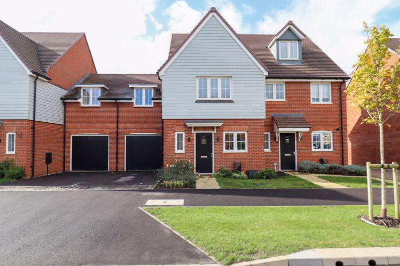 White & Brooks are pleased to bring to the market this modern terraced family home in the sought after Shopwhyke Lakes Development. The accommodation briefly comprises three double bedrooms and a family bathroom on the first floor with the main bedroom benefitting from an en-suite and built-in wardrobes. To the ground floor is a living room with french doors that lead out onto the garden, modern fitted kitchen/dining room and a cloakroom completes this floor. The property further benefits from an enclosed rear garden with patio and lawned area, and there is also a garage with driveway parking. An internal viewing is essential to appreciate all the property has to offer. The nearby Historic City of Chichester has a range of independent and high street names along with a comprehensive range of entertainment facilities including a multi-screen cinema, sports centres with swimming pools and a selection of restaurants, public houses, wine bars and bistros. In addition, there is the recently extended award-winning Pallant House Gallery and the world renowned Festival Theatre.