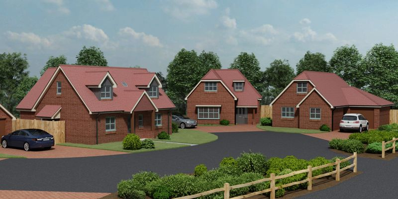 Silverstone Heights, Glebe Court, Fair Oak.  Plot 5 - Copse Cottage Now Released For Sale