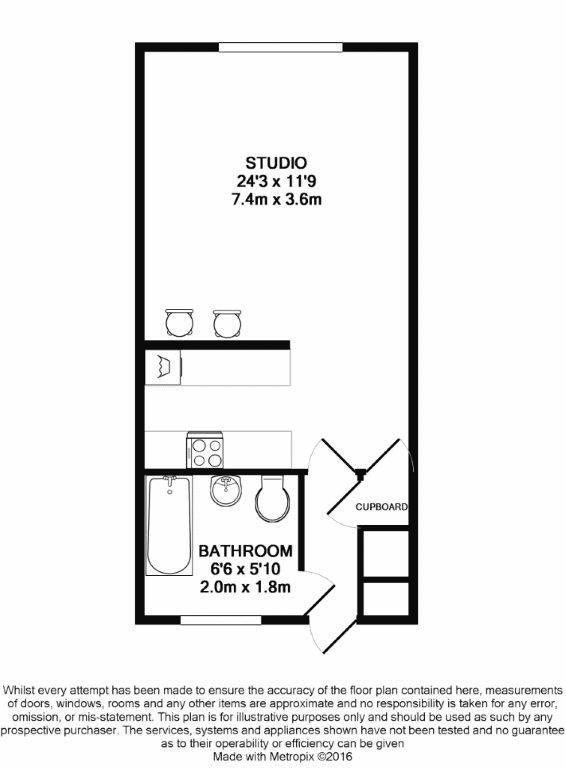 Flat for sale in Elizabeth House, Maidstone - Property Floorplan