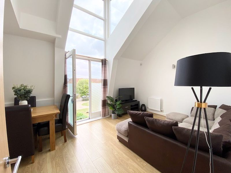No Cladding Issues! <br/><br/>Gorgeous bright one bedroom apartment in the popular village of Coxheath. Featuring high ceilings in the open plan lounge kitchen, modern interior throughout and allocated parking.<br/><br/>Be quick to book your viewing of this light and airy one bedroom apartment set in the popular village of Coxheath. It is within easy walking distance of all village shops, amenities and bus route. Entry is via stairs to the first floor and leads through the carpeted hallway with a useful large double storage cupboard. Off of the hallway is the bright double bedroom with neutral carpet, grey painted feature wall and with a large window and door opening up to a juliet balcony. Further down the hallway is the modern bathroom with gorgeous grey laminate flooring to match the grey wall tiles. It offers a white clean, modern suite with a bath and overhead shower, heated white towel rail and also a mirrored wall cabinet. Then onto the bright open plan kitchen/lounge with neutral wood laminate flooring throughout offers stylish medium brown wood effect kitchen cabinets, washing machine, integrated oven, 4 ring gas hob with extractor fan and fridge/Freezer. The open plan lounge space is bright with high ceiling surround by large windows. It also has doors opening up to a juliet balcony.<br/><br/>The property benefits from central heating, double glazing and neutral decoration throughout.There is access to an allocated parking space as well as visitors or on road parking is available. Additional features include gas central heating and intercom system. Be quick to book your viewing of this light and airy one bedroom apartment set in the popular village of Coxheath. It is within easy walking distance of all village shops, amenities and bus route.<br/><br/>Tenant in situ<br/><br/>6% Gross Yield (taking annual charges into consideration)<br/><br/>Lease remaining 111 years <br/><br/>EPC Rating C<br/><br/>