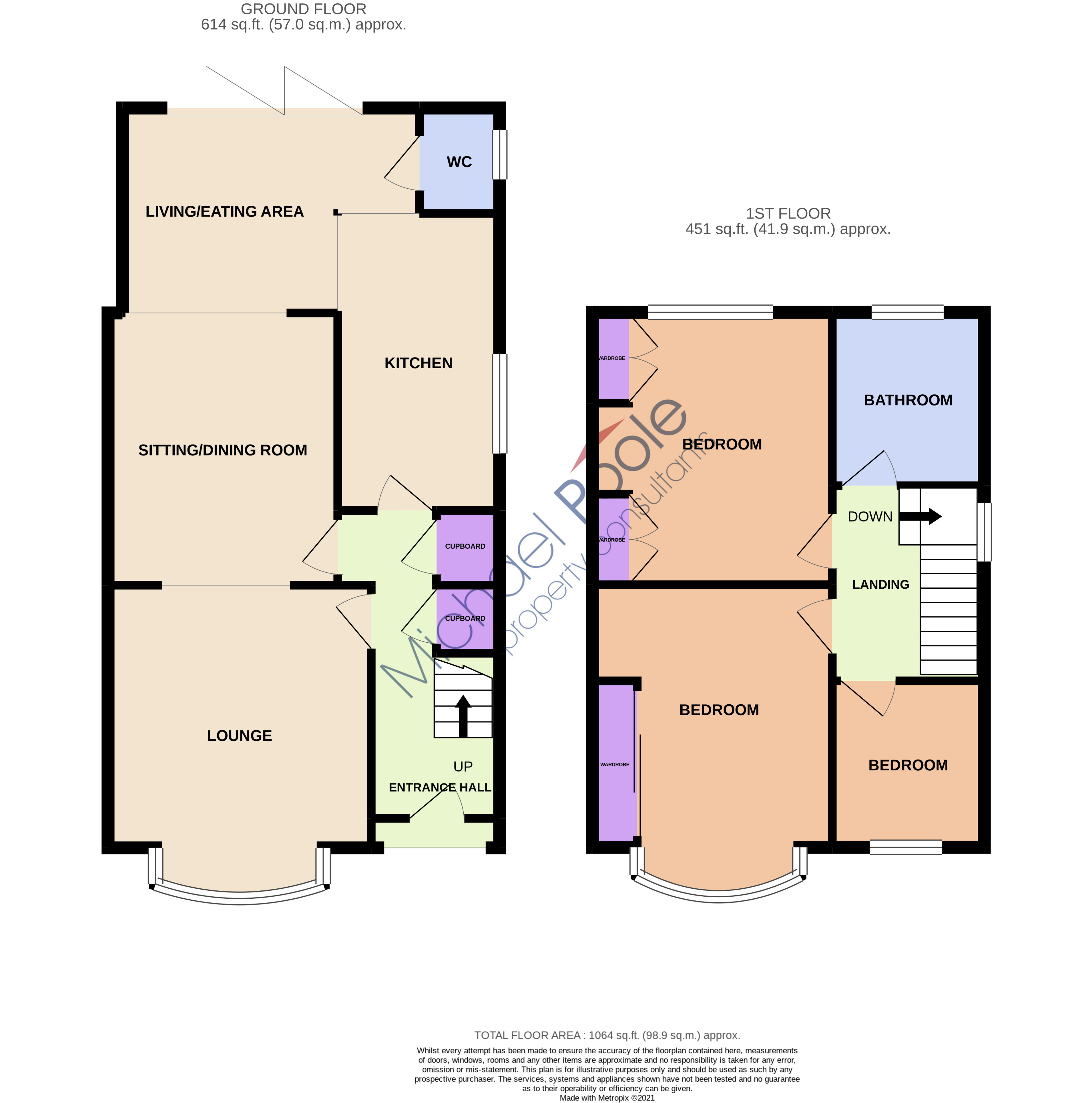 3 bed house for sale in Rushleigh Avenue, Acklam - Property Floorplan