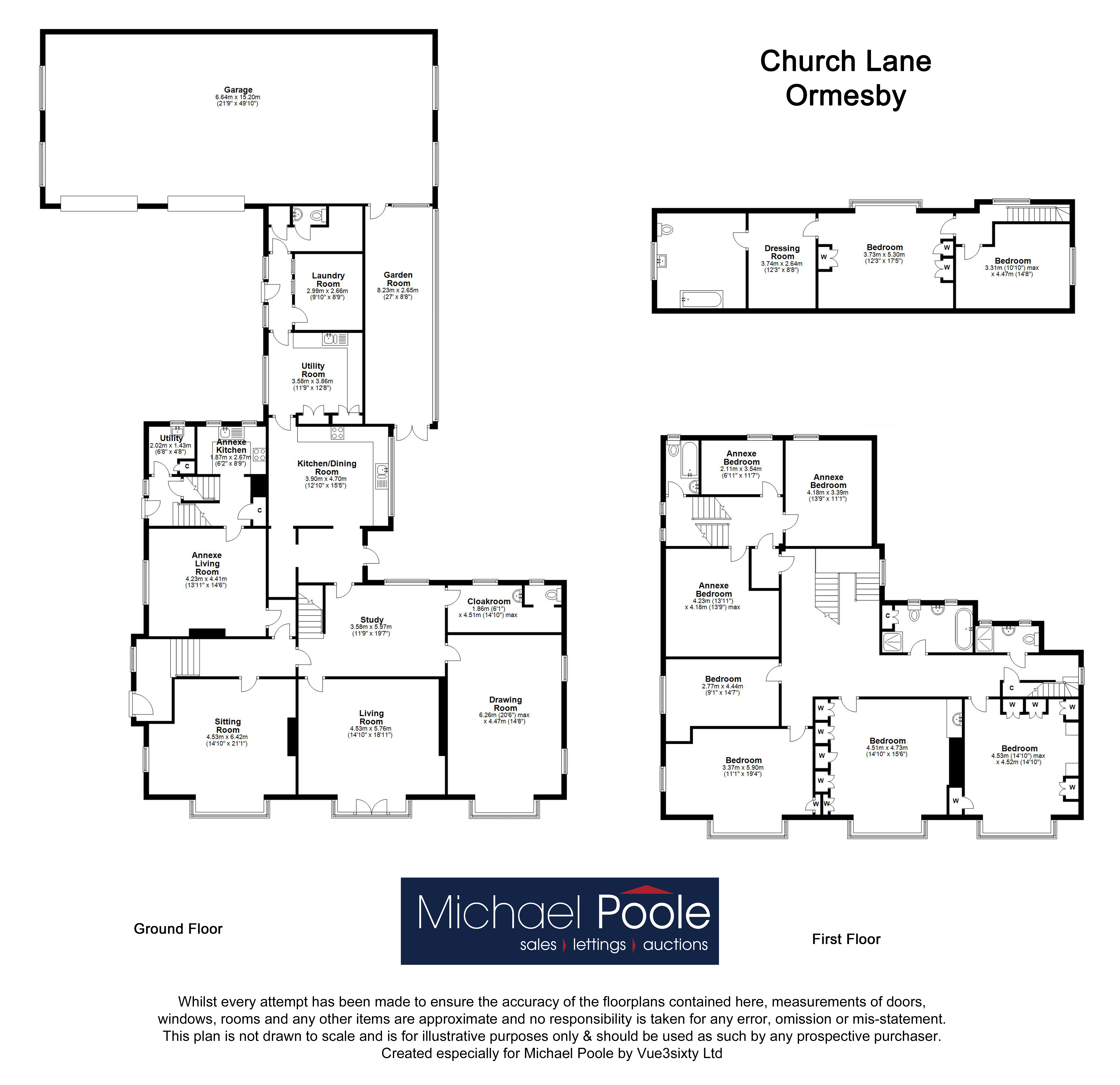 9 bed house for sale in Church Lane, Ormesby - Property Floorplan