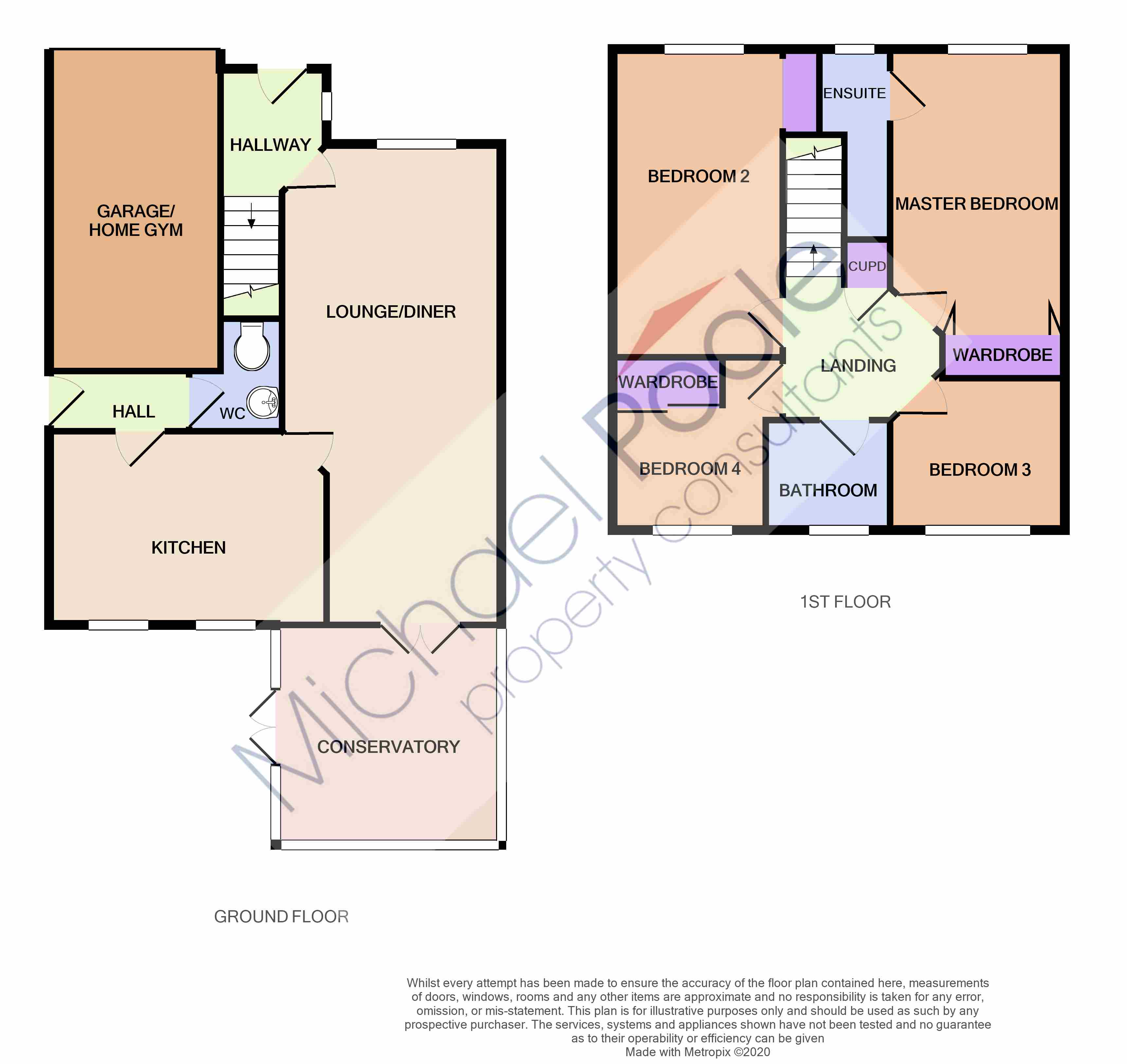 4 bed house for sale in Trevarrian Drive, Redcar - Property Floorplan