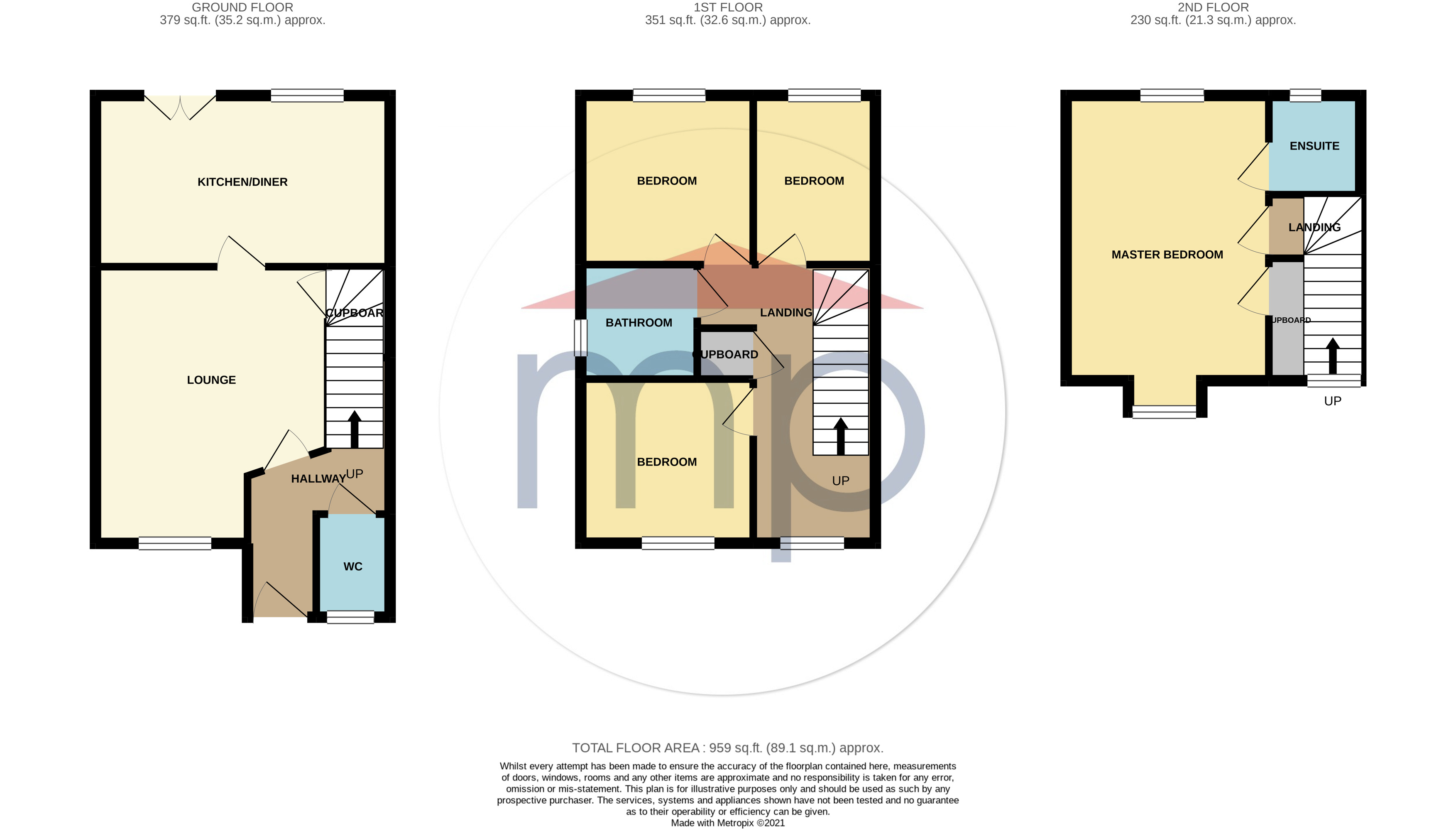 4 bed house for sale in Crimdon Beck Close, Whitewater Glade - Property Floorplan