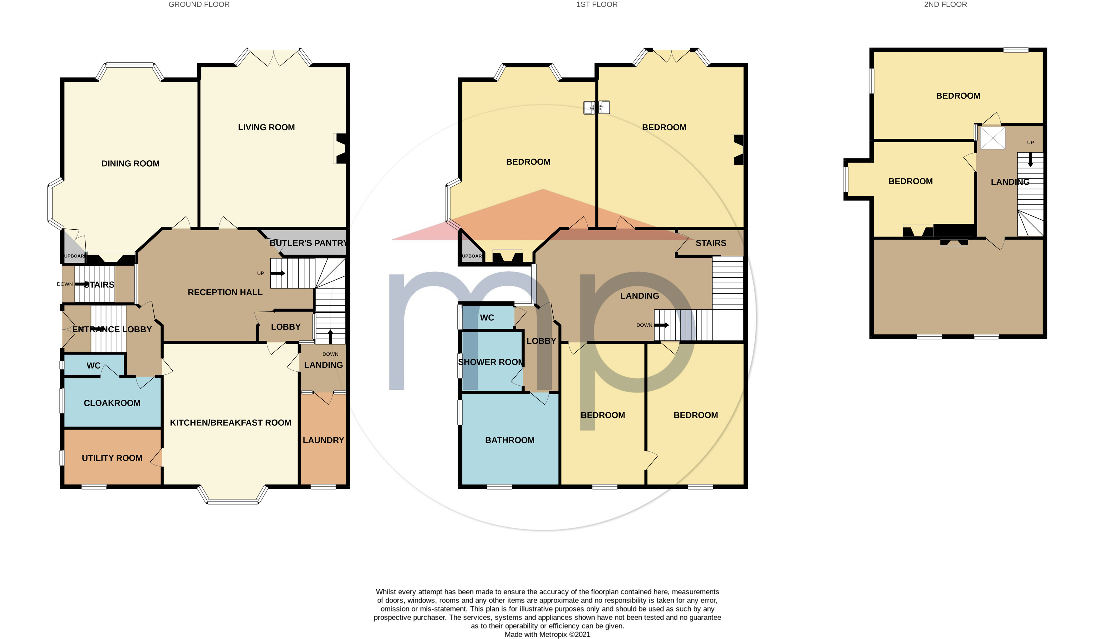 7 bed house for sale in Richmond Road, Stockton-on-Tees - Property Floorplan