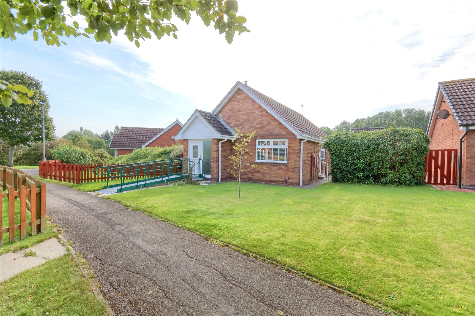 2 bed bungalow for sale in Kinloss Walk, Thornaby - Property Image 1