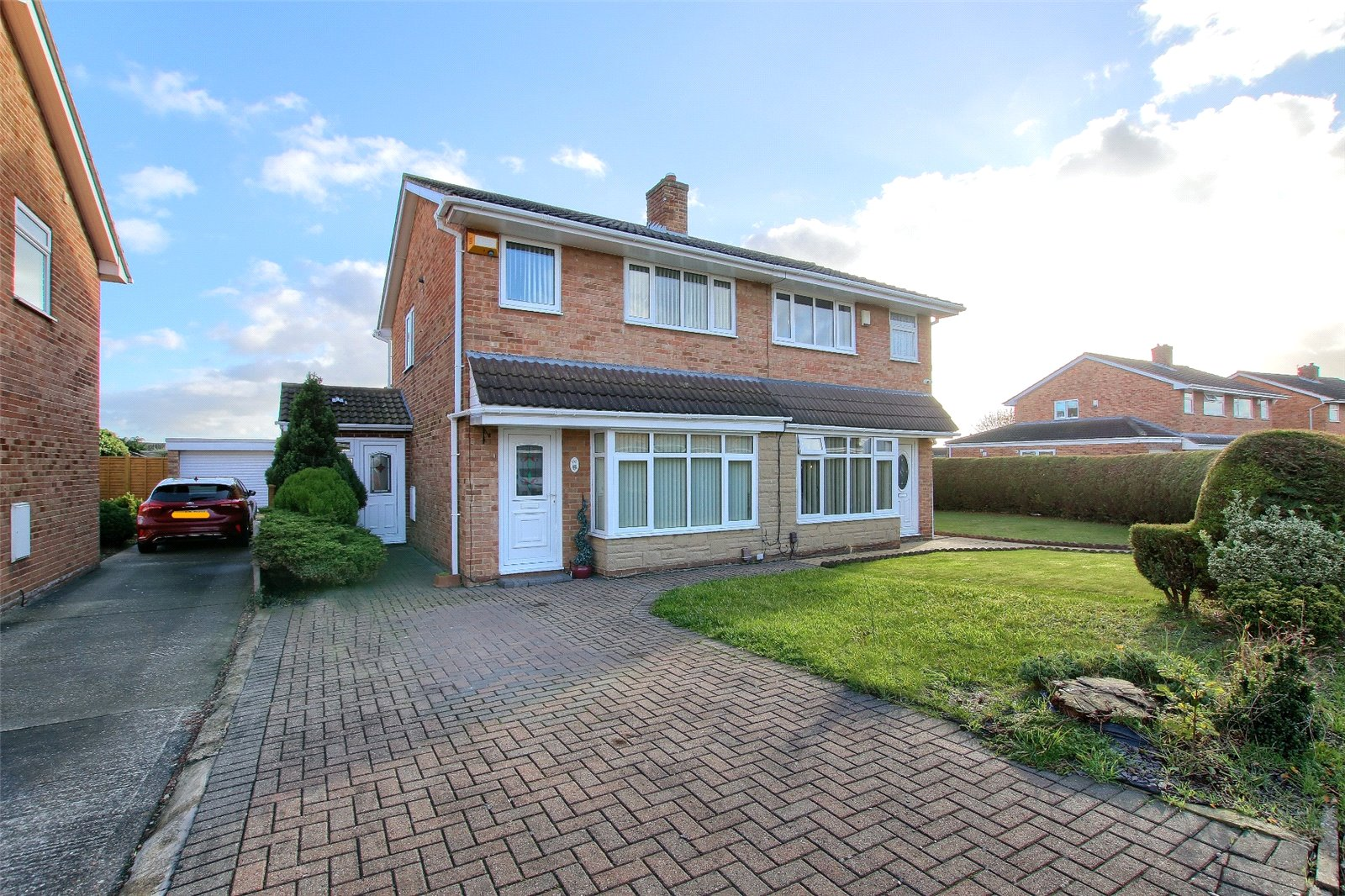 3 bed house for sale in Topcliffe Road, Thornaby  - Property Image 1