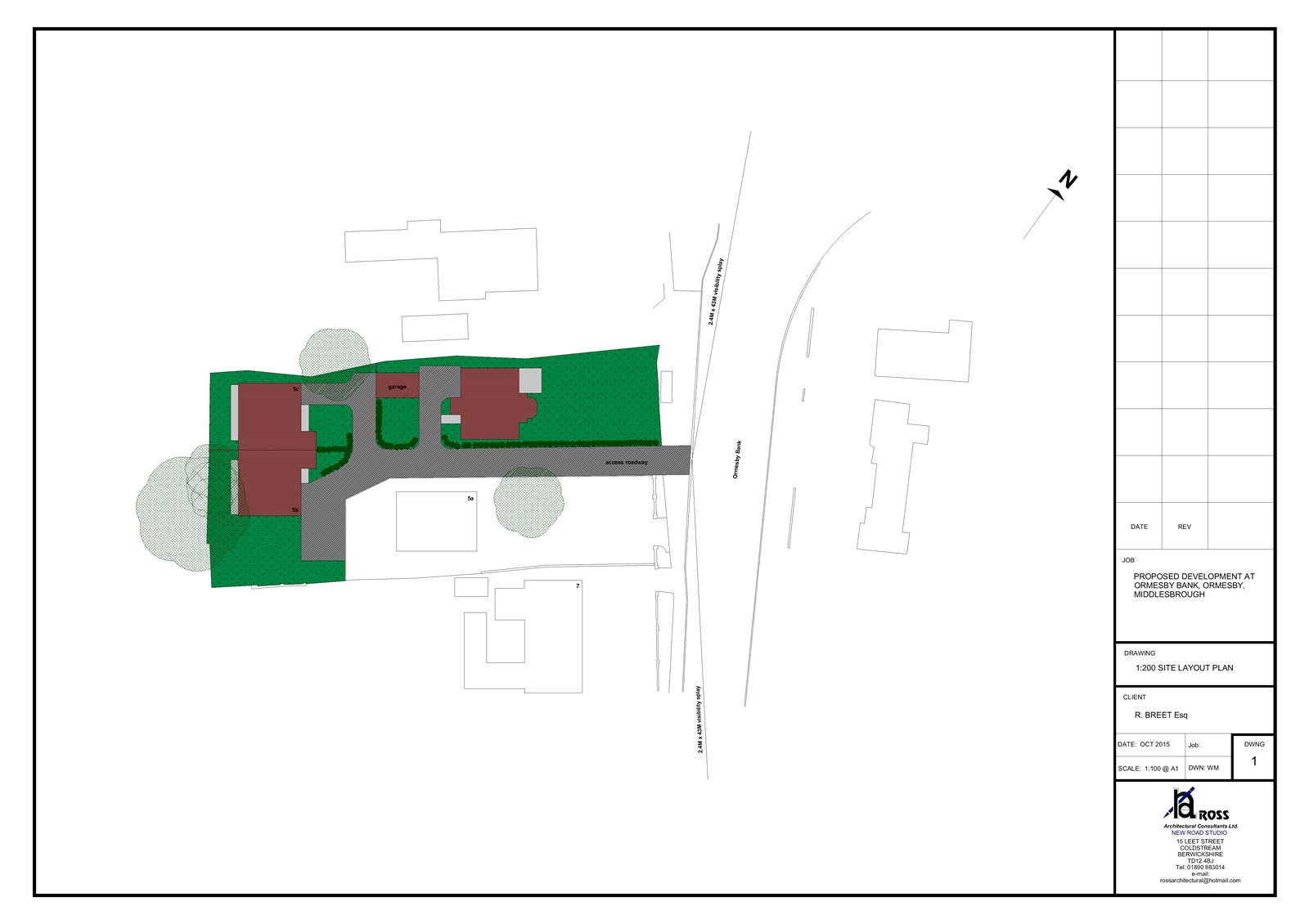 Land (residential) for sale in Ormesby Bank, Ormesby  - Property Image 3