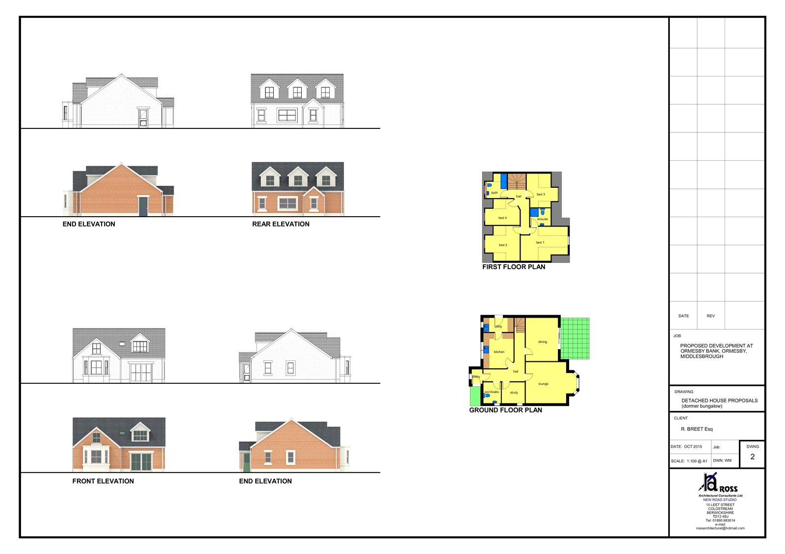 Land (residential) for sale in Ormesby Bank, Ormesby  - Property Image 2