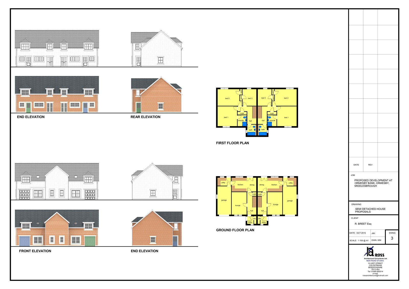 Land (residential) for sale in Ormesby Bank, Ormesby - Property Image 1