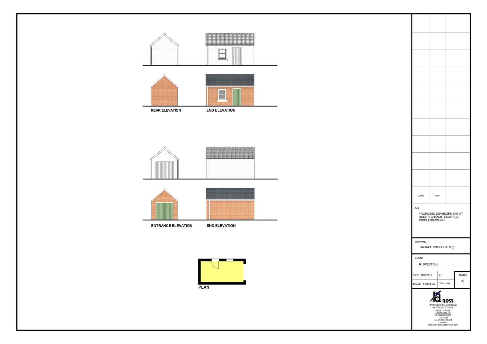 Land (residential) for sale in Ormesby Bank, Ormesby  - Property Image 4