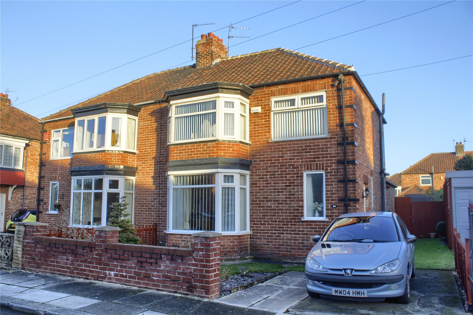 3 bed house for sale in Benton Road, Tollesby - Property Image 1