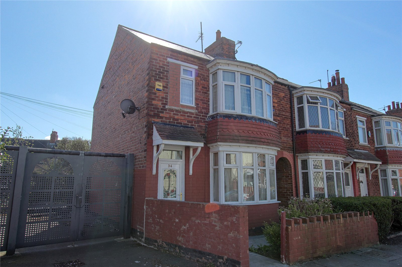 2 bed house for sale in Newstead Road, Middlesbrough - Property Image 1