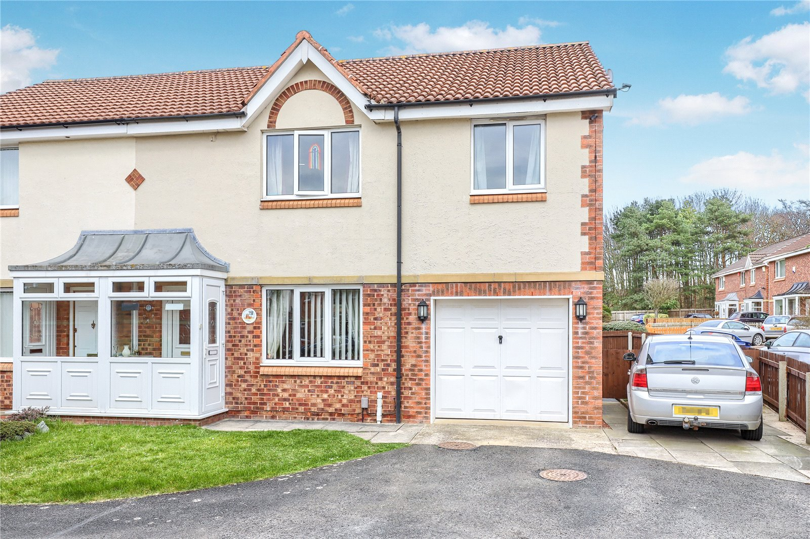 3 bed house for sale in Lynmouth Close, Hemlington - Property Image 1