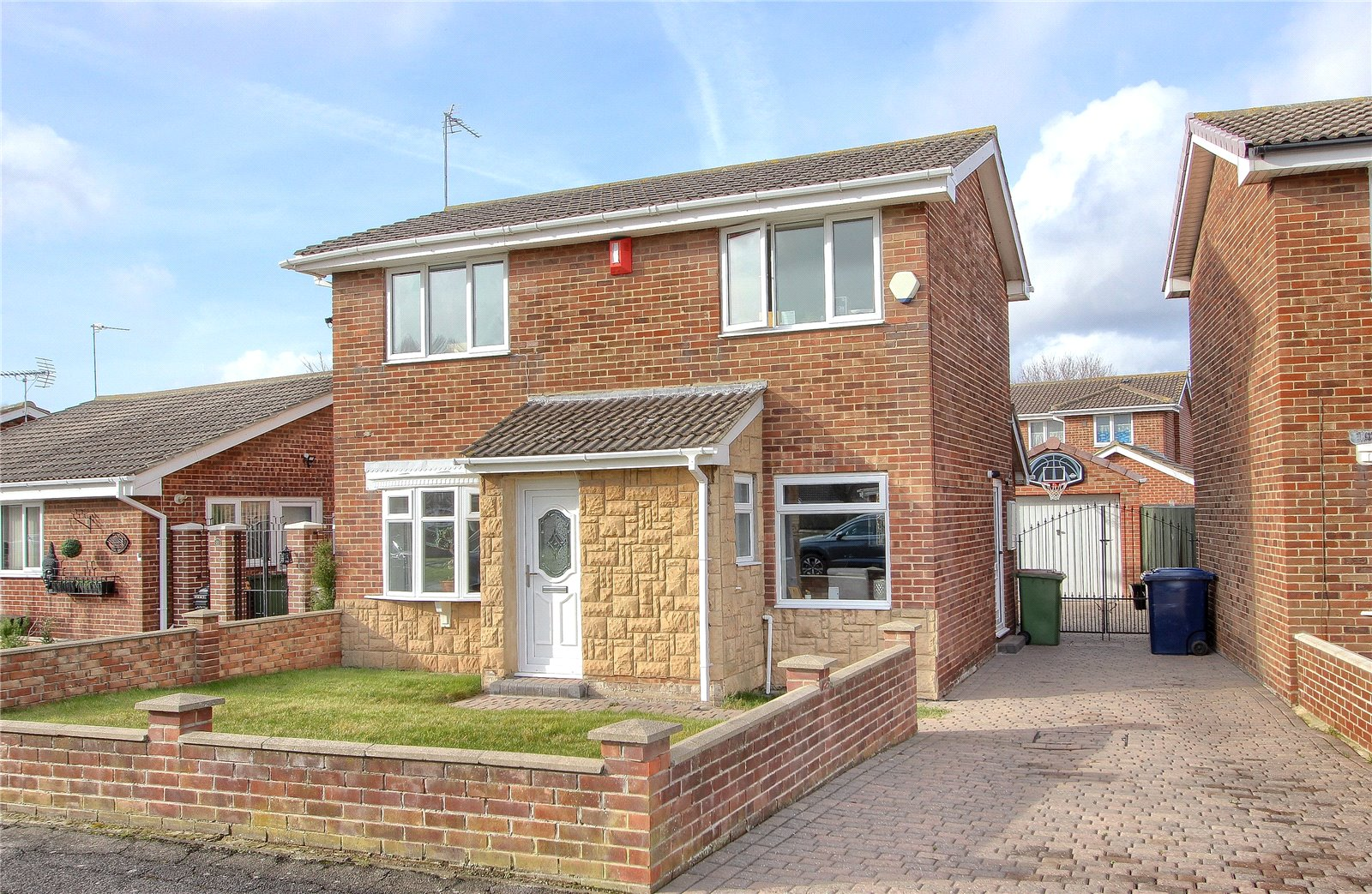 3 bed house for sale in Fulmerton Crescent, Redcar  - Property Image 1