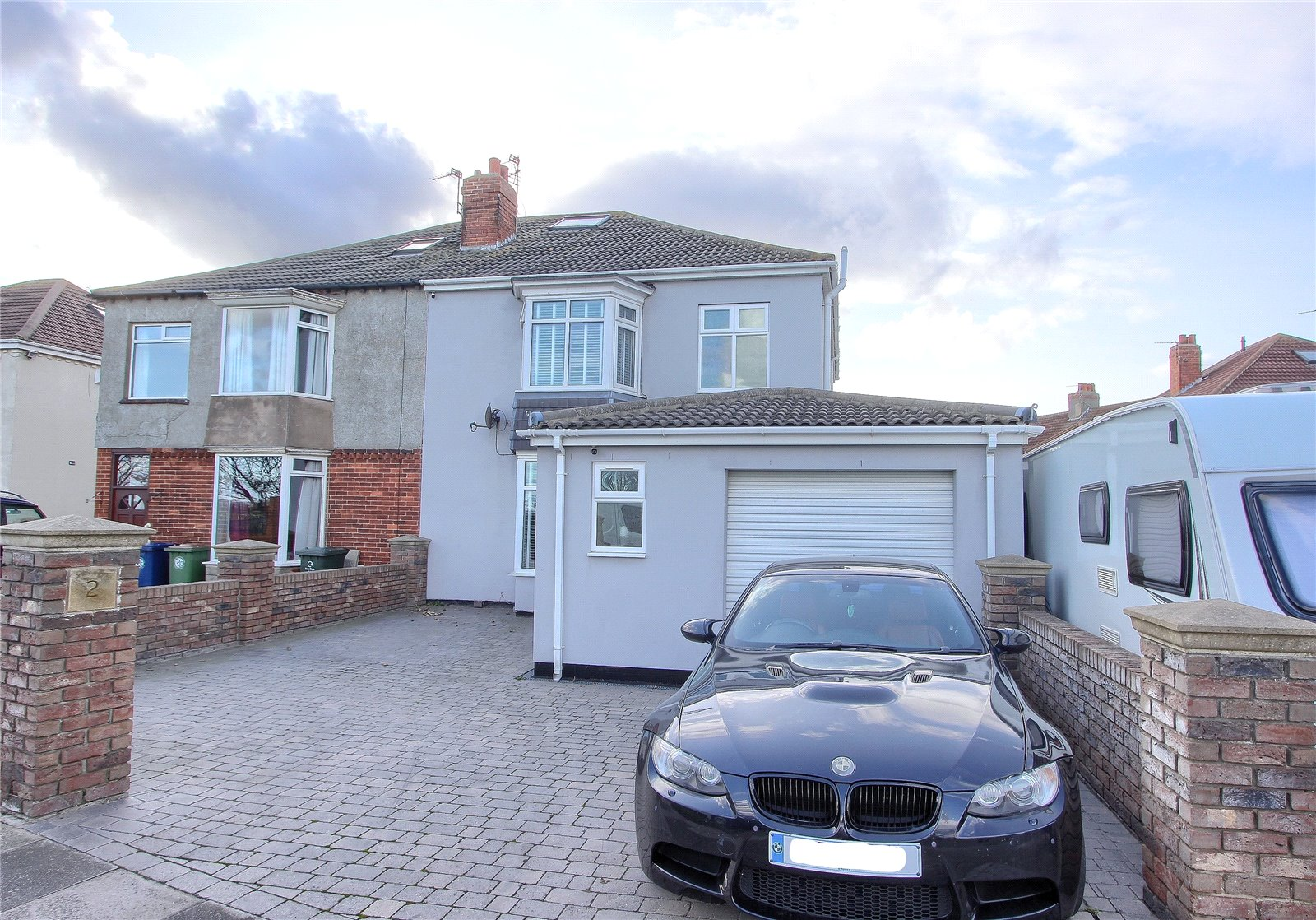 3 bed house for sale in The Crescent, Redcar  - Property Image 1